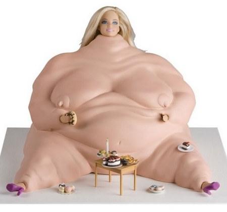 Barbie Obesa... es mas REalista