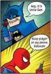 deja de jugar con mi telefono Batman