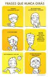frases que nunca oiras