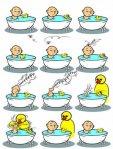 El pato y su humano de hule