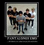 Pantalones Emo