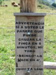 advertencia taurina