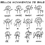 movimientos de Baile matematicos