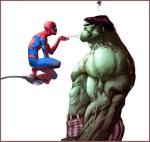 Pinche Imagen Chingona Spiderman Hulk