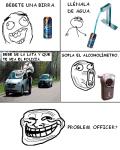 Como trollear a un oficial