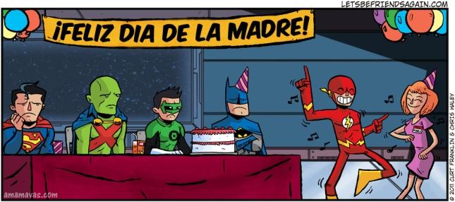 Dia de las MAdres de los Super Heroes