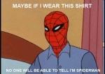 quizas con esta camisa nadie sepa que soy Spiderman