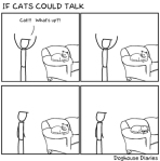 Si los gatos pudieran Hablar