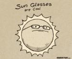 Los lentes de Sol son cool