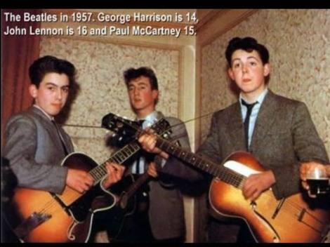 BEATLES EN 1957