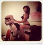 Los storm trooper despues de la caida tuvieron que buscar nuevos empleos
