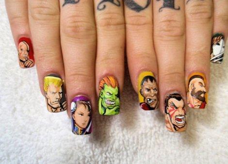 Si fuera chica asi tuviera mis uñas... fuck Yeah