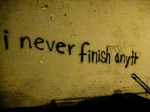 yo nunca termino na..
