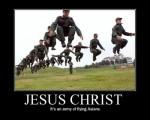 Jesucristo es el ejercito de asiaticos voladores