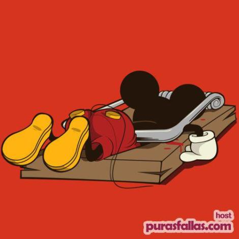 La muerte de Mickey