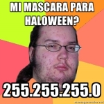 Mi marcara de halloween