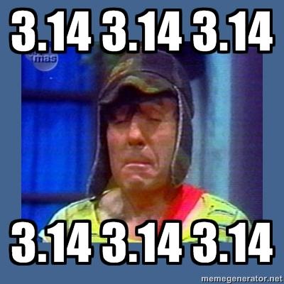 Número Pi... este día no se repetirá sino dentro de 100 años Pi-pi-pi-pi-pi