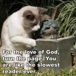 Por el amor de Dios dale vuelta a la pagina.. eres el lector mas lento del mundo