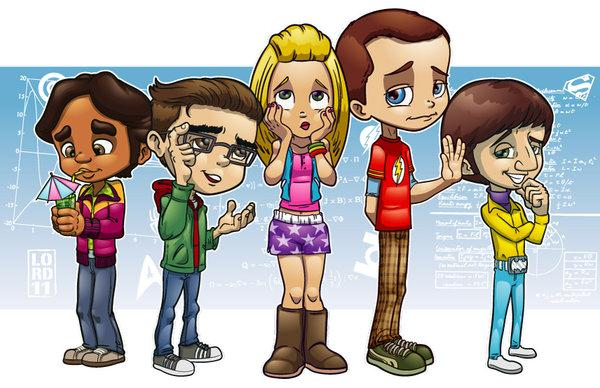 TBBT Cartoon
