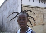 tengo una araña en la cabeza bro...