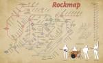 Rock and metal Map Wallpaper