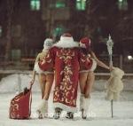 Santa y sus ayudantes