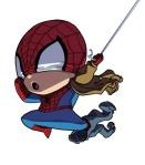 spiderman gasta mucho en cambios de ropa