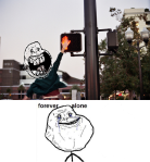 High five forever alone