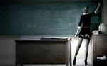 Con esta maestra... igual no entiendes nada de math pero entrarias todos los dias