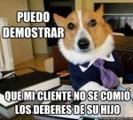 el perro abogado 1