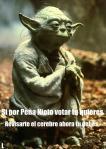 Si lo dice Yoda debe ser cierto