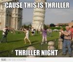 bailando thriller o.. que
