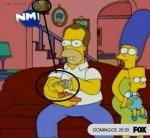 Errores en Los Simpsons... curioso