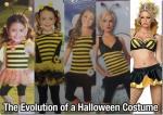 Evolucion de vestidos de halloween