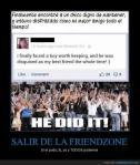 Salir del Friendzone... lo hizo!
